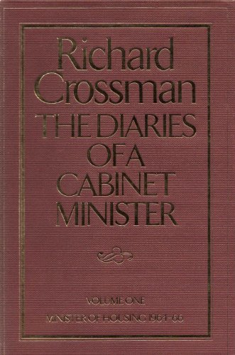 9780241891100: The Diaries of a Cabinet Minister: Minister of Housing, 1964-66 v. 1