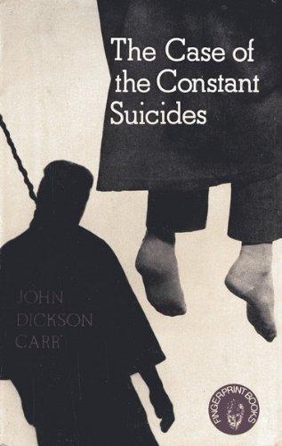 9780241897195: Case of the Constant Suicides (Fingerprint Books)