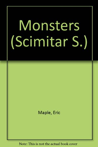 9780241898017: Monsters (Scimitar)