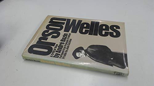 9780241898796: Orson Welles: A Critical View