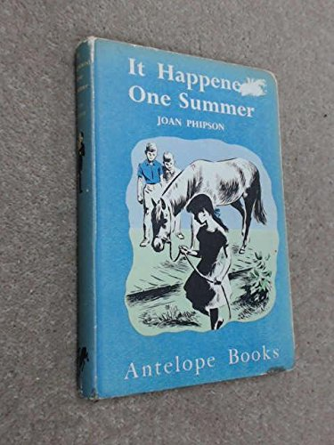 It Happened One Summer (Antelope Bks.): Phipson, Joan