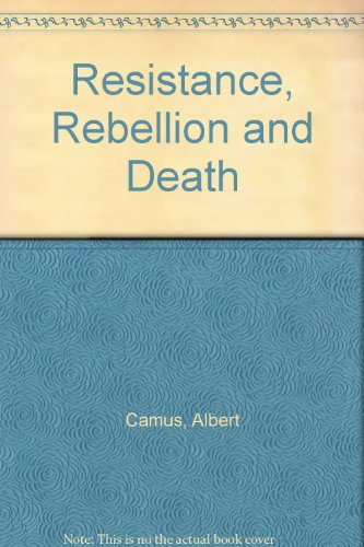 Resistance, Rebellion and Death (0241905621) by Albert Camus