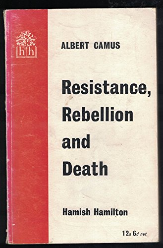 9780241905630: Resistance, Rebellion and Death