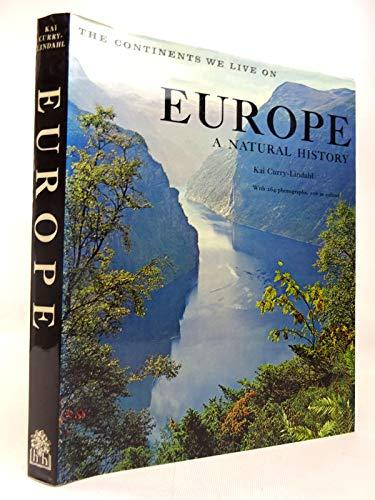 Europe: A Natural History: Curry-Lindahl, Kai