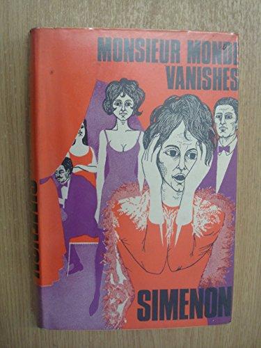 9780241913413: Monsieur Monde Vanishes