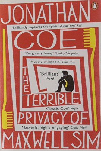 The Terrible Privacy Of Maxwell Sim: Coe, Jonathan