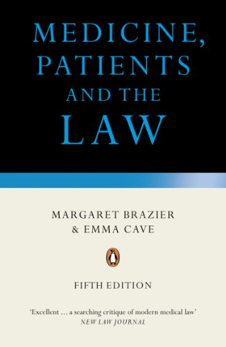 9780241952597: Medicine, Patients and the Law: Revised and Updated Fifth Edition