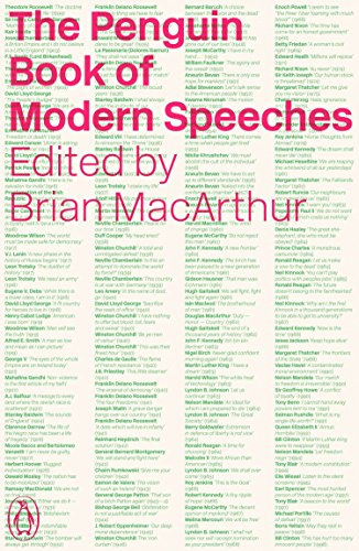 9780241953259: The Penguin Book of Modern Speeches