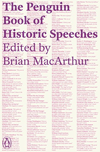 9780241953266: The Penguin Book of Historic Speeches
