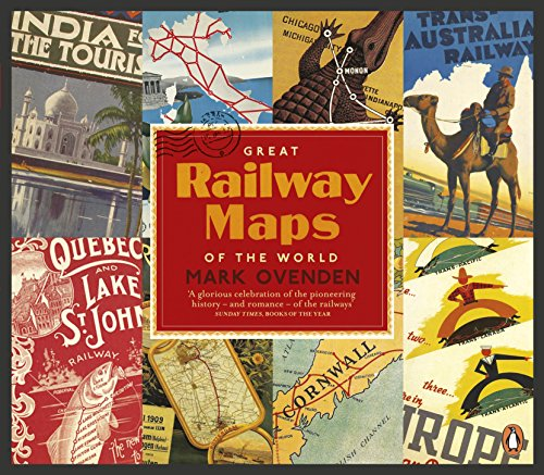 9780241954089: Great Railway Maps of the World