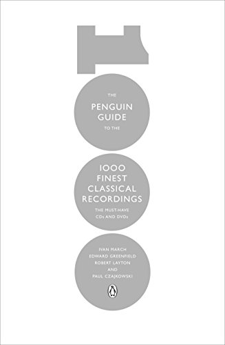 9780241955949: The Penguin Guide to the 1000 Finest Classical Recordings: The Must Have CDs and DVDs