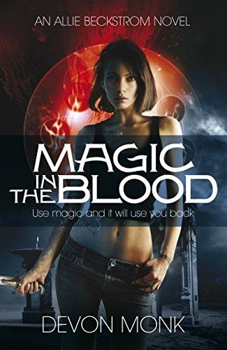 9780241956625: Magic in the Blood (An Allie Beckstrom Novel)