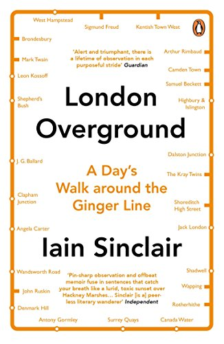 9780241971499: London Overground: A Day's Walk Around the Ginger Line