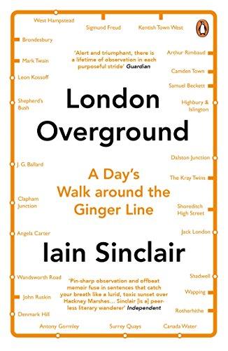 9780241971499: London Overground: A Day's Walk Around the Ginger Line