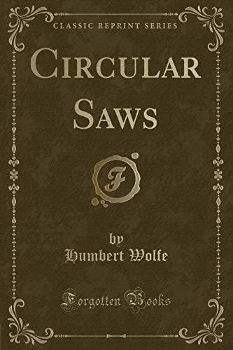 9780243519491: Circular Saws (Classic Reprint)