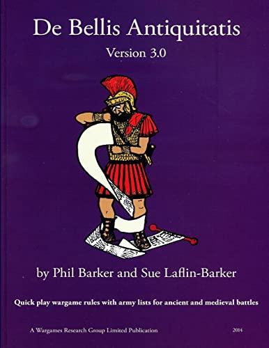 9780244697686: De Bellis Antiquitatis Version 3.0