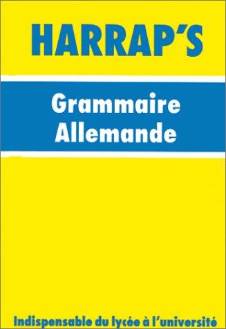 Minilingua 07 grammaire allemande (Harrap'S Minili): Collectif