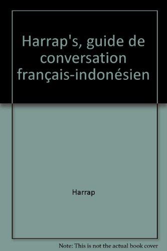 9780245502040: Harrap's, guide de conversation français-indonésien