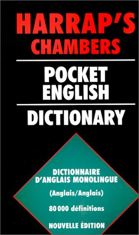 9780245502767: Pocket English Dictionnary