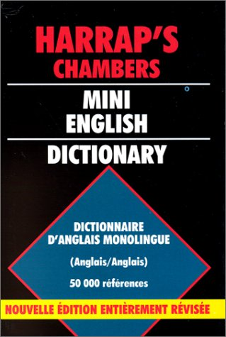 9780245502996: Chambers Mini English Dictionary