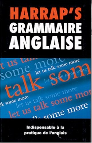9780245503238: Harrap's Grammaire Anglaise (Modern languages in Europe)