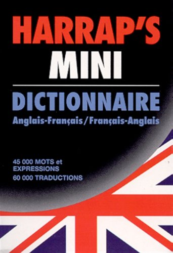 9780245503665: Harrap's Mini Dictionnaire Anglais-Francais /Francais-Anglais (Mini Pocket English-French/ French-English Dictionary