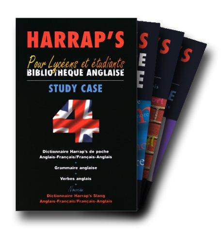 9780245503788: HARRAP'S COFFRET 4 VOLUMES. Pour lycéens et étudiants, Bibliothèque anglaise, study case