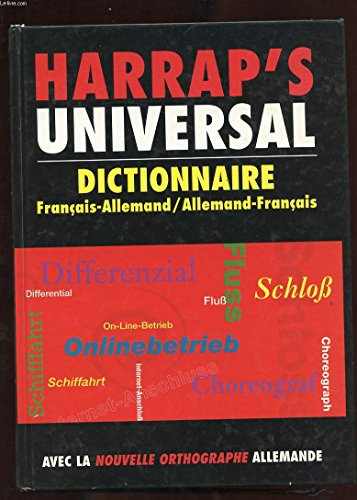 9780245504013: Harrap's Universal : Allemand/français, français/allemand