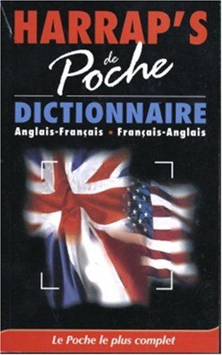 9780245504068: Harrap's de poche dictionnaire anglais-français, français-anglais
