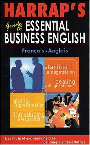 9780245504365: Harrap's Guide to Essential Business English français-anglais