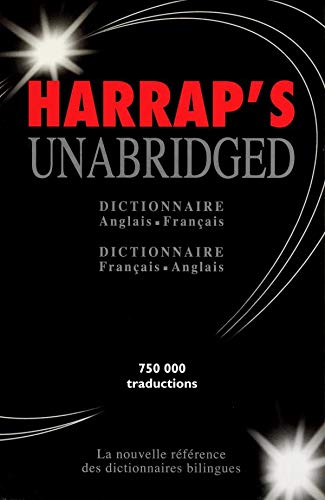 9780245504655: Harrap's Unbridged dictionnaire: Anglais-Français & Français-Anglais (2 Vol. Set)
