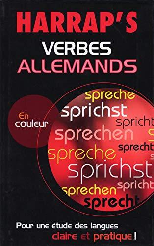 9780245505423: Harrap's : Verbes allemands
