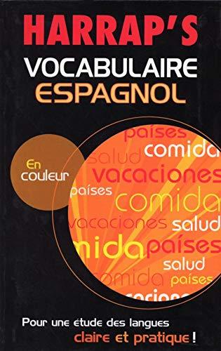 9780245505447: Harrap's : Vocabulaire espagnol