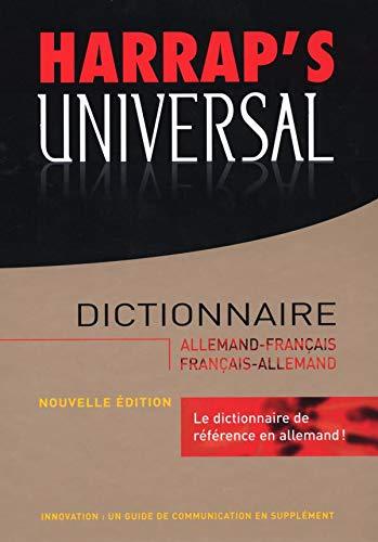 9780245506192: Harrap's Universal : Allemand-Français / Français-Allemand