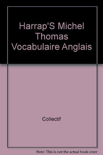 9780245508233: Harrap S Michel Thomas Vocabulaire Anglais