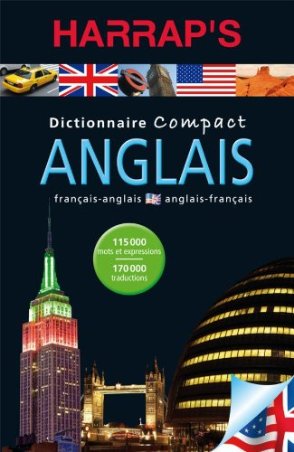 Harrap's Compact Dictionnaire Anglais-Francais (French Edition) (French: Collectif