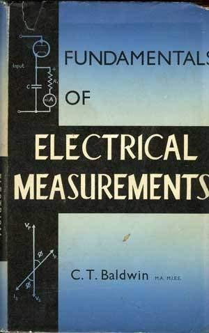 9780245519901: Fundamentals of Electrical Measurements