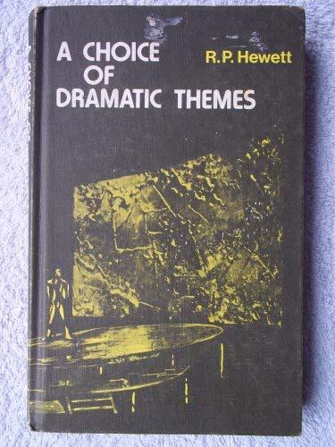 9780245519949: Choice of Dramatic Themes