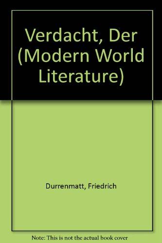 9780245522253: Verdacht, Der (Modern World Literature)
