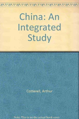 9780245522918: China: An Integrated Study