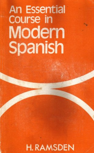 9780245528606: An Essential Course in Modern Spanish