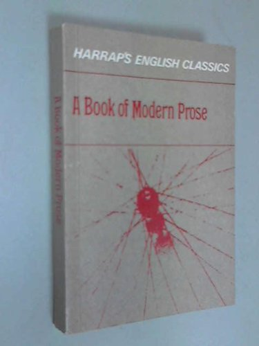 Book of Modern Prose (English Classics)