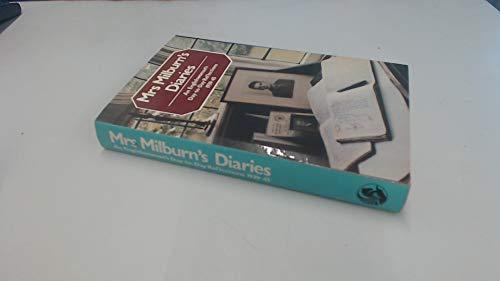 Mrs Milburn's Diaries : An Englishwoman's Day-To-Day Reflections, 1939-45: Milburn, Clara...