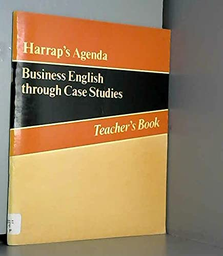 9780245534935: Agenda: Tchrs': Business English Through Case Studies