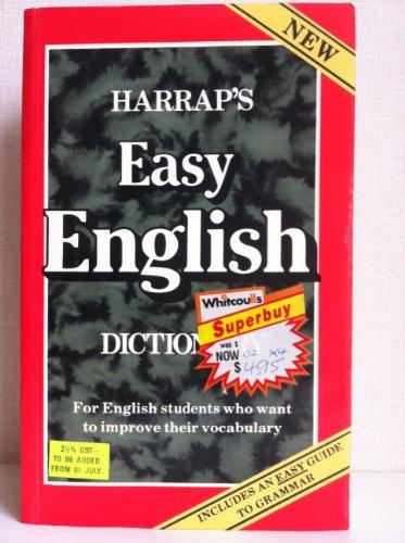 Harrap's Easy English Dictionary: Collin, P.H.