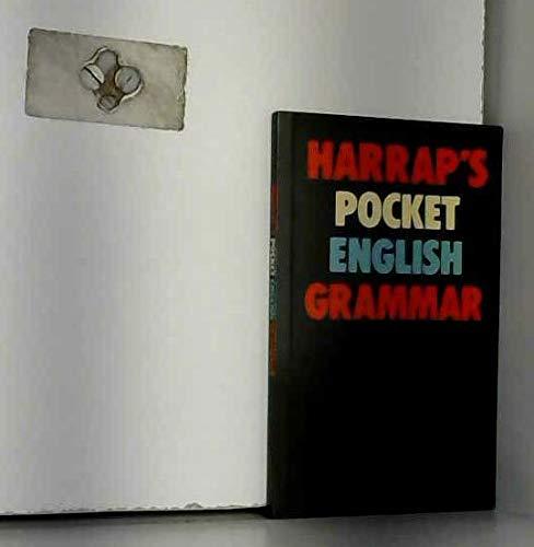 9780245537172: Harrap's pocket English grammar