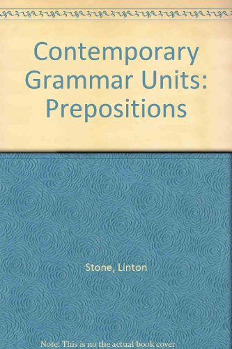 9780245537707: Contemporary Grammar Units (Contemporary grammar units)