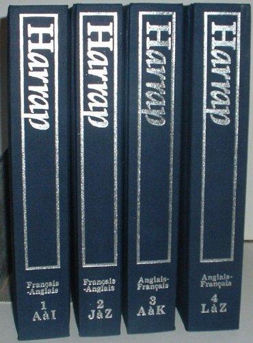 9780245537738: Grand Harrap: Dictionnaire français-anglais et anglais-français
