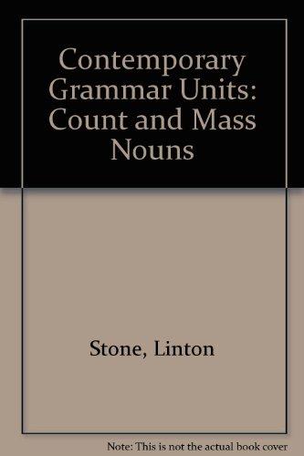9780245537899: Contemporary Grammar Units: Count and Mass Nouns Bk. 4