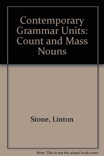 9780245537899: Contemporary Grammar Units: Count and Mass Nouns Bk. 4